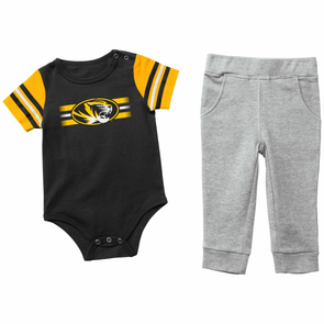 Mizzou Colosseum Truman Infant Onesie with Pants Set