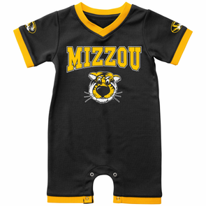 Mizzou Colosseum Truman Black and Gold Onesie
