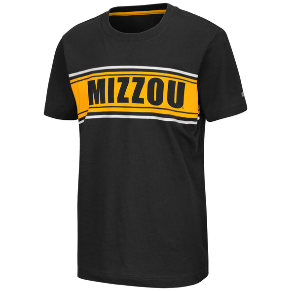 Mizzou Colosseum Youth Black T-Shirt