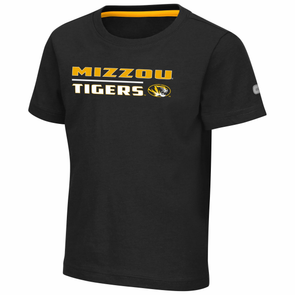Mizzou Colosseum Toddler Black T-Shirt