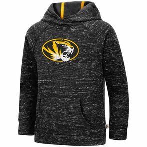 Mizzou Youth Girls Colosseum Black Hoodie