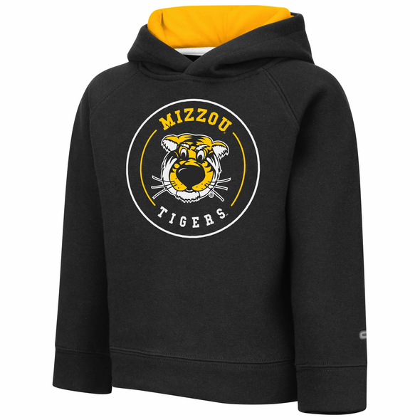 Mizzou Toddlers Truman Colosseum Black Hoodie