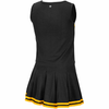 Mizzou Oval Tiger Head Infant Black and Gold Cheer Outfit