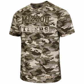 Mizzou Tigers Colosseum Tan Camo T-Shirt