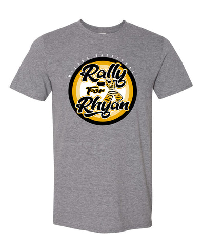 Mizzou Rally for Rhyan 2021 Adult Grey T-Shirt