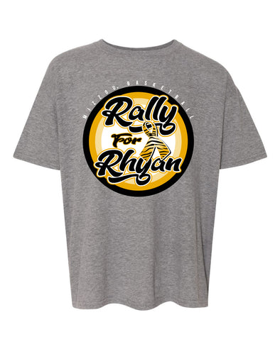 Mizzou Rally for Rhyan 2021 Youth Grey T-Shirt