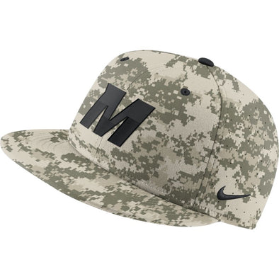 Mizzou Nike® 2021 On the Field Replica Fitted Digi Camo Baseball Bold M Hat