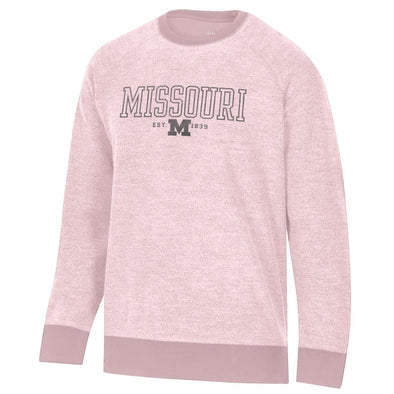 Missouri M Inside Out Pink Crew Sweatshirt