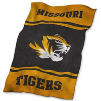 Missouri Tigers Black Ultrasoft Fleece Blanket