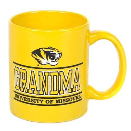 University of Missouri Grandma Gold Ceramic Mug