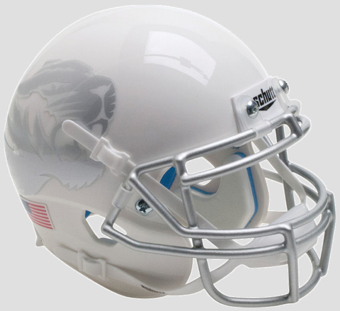 Mizzou White & Silver Mini Football Helmet