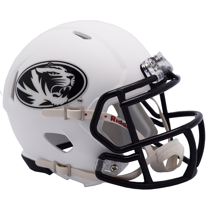 Mizzou White Mini Football Helmet