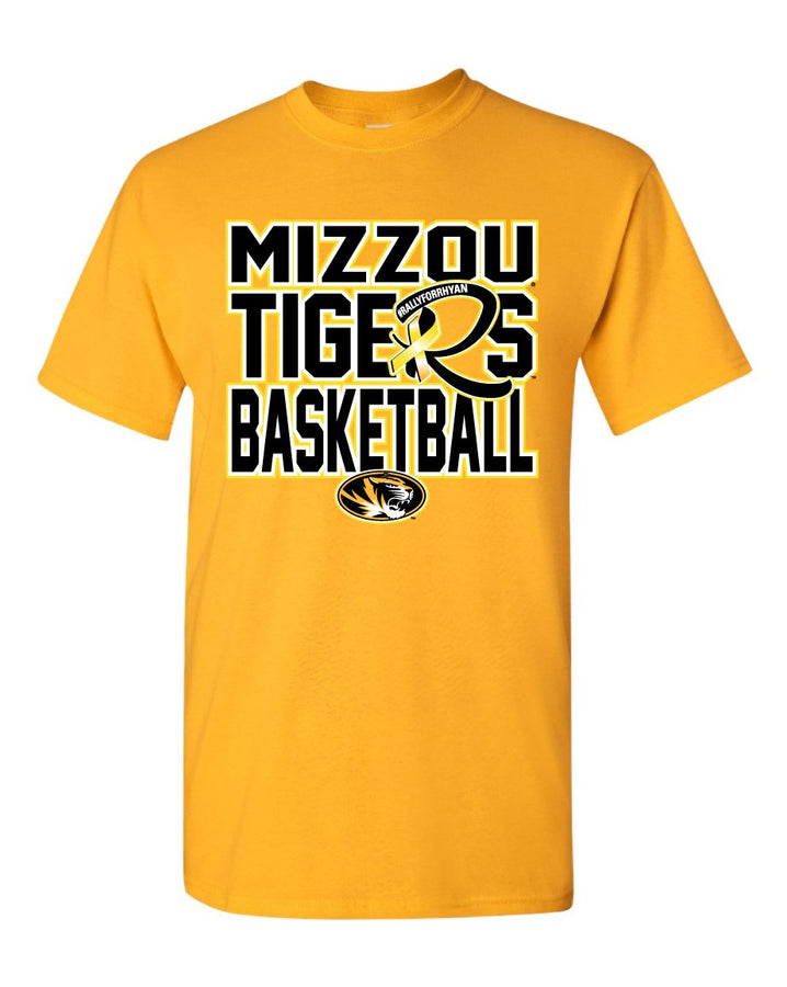 Mizzou Youth Rally for Rhyan 2018 Gold T-Shirt
