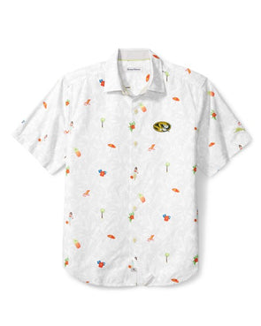 Mizzou Tommy Bahama Beach Cation White Dress Shirt