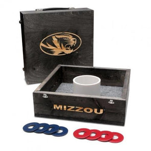 Mizzou Washer Toss Oval Tiger Head