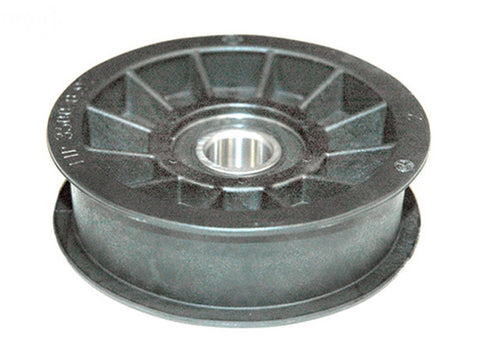 Replaces Exmark, Toro, Hustler Flat Idler Pulley