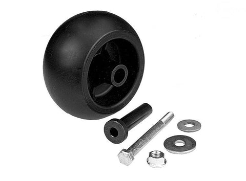 WEX10301 Deck Wheel with Hardware replaces Exmark 103-3168 and others