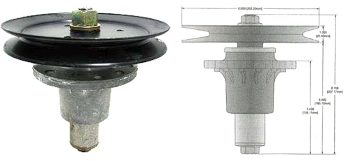SH13006 Replaces Exmark Spindle Assembly 1-644092