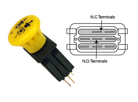 Replaces Scag PTO Switch 483957