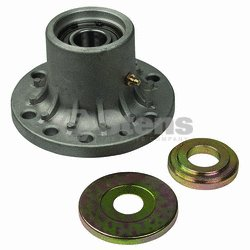Replaces Exmark Spindle Housing Assembly with Lip Bearing