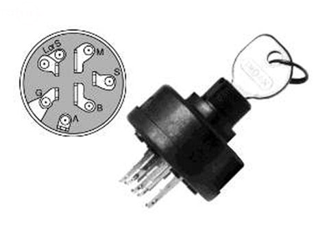 Replaces Ignition Swith for Multi-Applications