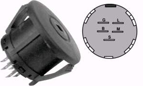 MP9655 Replaces Ignition Switch for John Deere & others