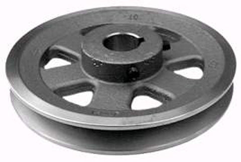 Replaces Exmark Engine Pulley