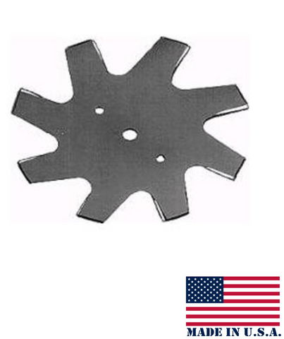EBS98A 9 inch 8-Point Star Edger Blade 5/8 inch center hole