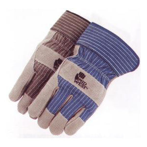 Leather Palm Work Glove - Large