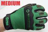 Landscaping Work Gloves SIZE MEDIUM, Microfiber, Anti-Vibration, Dexterity, Sweat Wipe