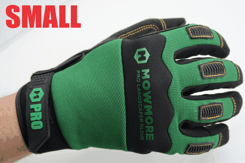 Landscaping Work Gloves SIZE SMALL, Microfiber, Anti-Vibration, Dexterity, Sweat Wipe