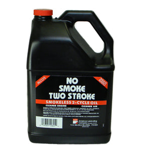 NS128 No Smoke 2 Stroke Oil 1 Gallon Bottle