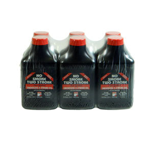 No Smoke 2 Stroke Oil (6) 6.4oz Bottles