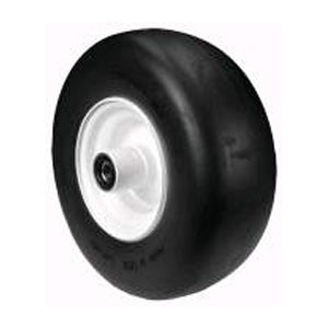 WEX9809 Replaces Exmark and Dixie Chopper Flat Free Wheel Assembly 13 x 500 x 6