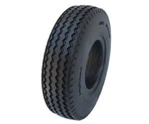 Flat Free Sawtooth Tread Tire 410 x 350 x 4