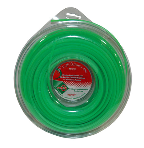 1# .130 Premium Commercial Square Trimmer Line