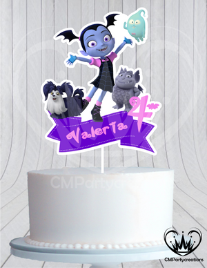 Vampirina Cake Birthday Topper