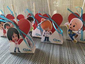 Cleo y Cuquin Telerin Family Lollipop Holder