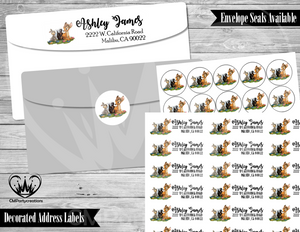 Bambi Address Labels Mailing Labels
