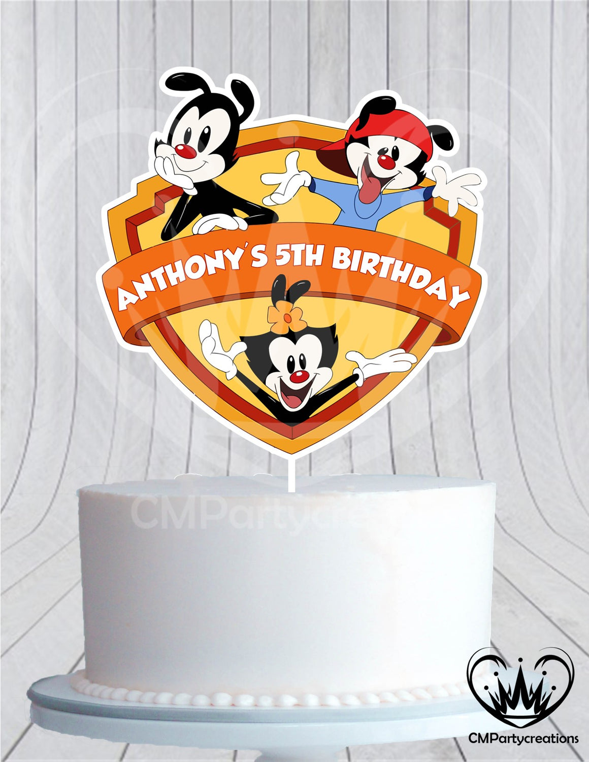 Animaniacs Cake Topper