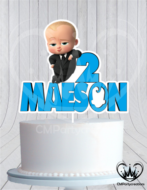 Boss Baby Cake Topper Birthday