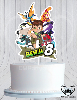 Ben 10 Cake Topper Birthday Party