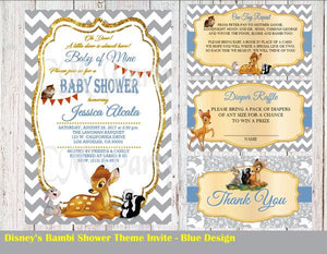 Bambi Baby Shower Invitation