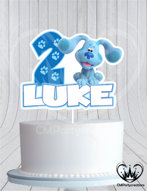 Blues Clues Cake Topper Birthday Modern