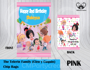 Cleo y Cuquin Chip Bag / Goody Bags