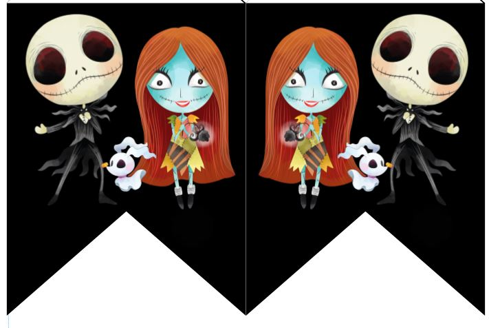 Nightmare Before Christmas Birthday Banner