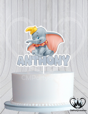 Dumbo Birthday Cake Topper