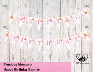 Precious Moments Party Banner