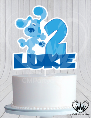 Blues Clues Cake Topper Birthday Animated