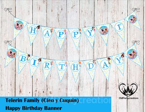 Cleo & Cuquin Telerin Family Banner